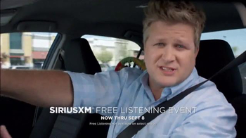 Sirius/XM Satellite Radio Free Listening Event TV Spot, 'Donuts' - Thumbnail 2