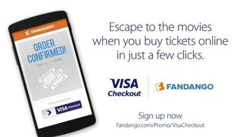 VISA Checkout With Fandango TV Spot, 'The Perfect Escape: Mattress' - Thumbnail 8
