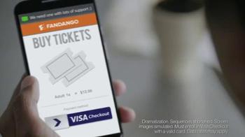 VISA Checkout With Fandango TV Spot, 'The Perfect Escape: Mattress' - Thumbnail 5