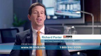 ITT Technical Institute TV Spot, 'Compact Power Equipment' - 415 commercial airings