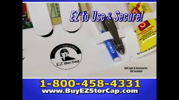 EZ Stor Cap TV Spot, 'On the Go' - Thumbnail 3