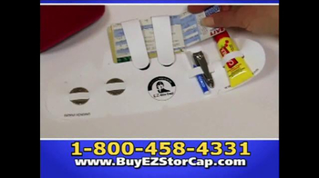 EZ Stor Cap TV Spot, 'On the Go' - Thumbnail 4