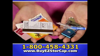 EZ Stor Cap TV Spot, 'On the Go' - Thumbnail 6