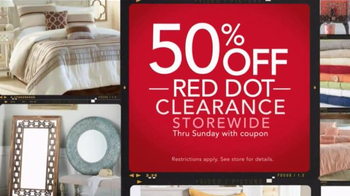 Stein Mart Home Event TV Spot, 'Department Store Prices' - Thumbnail 4