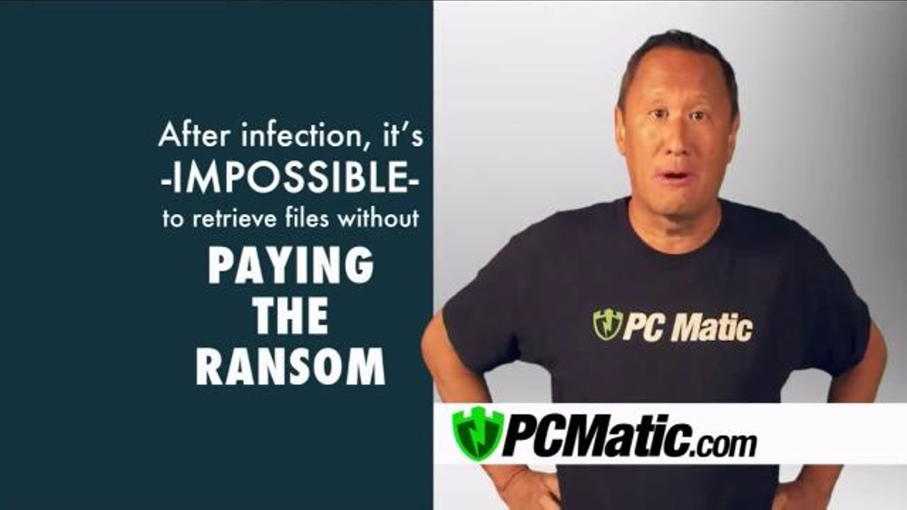 PCMatic.com TV Commercial, 'Ransomware'