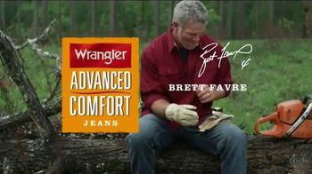 Wrangler Advanced Comfort Jeans TV Spot, 'Durable' Featuring Brett Favre - 946 commercial airings