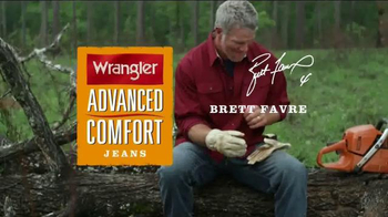 Wrangler Advanced Comfort Jeans TV Spot, 'Durable' Featuring Brett Favre