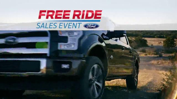 Ford Free Ride Sales Event TV Spot, 'Free to Choose the Right Truck' - Thumbnail 2