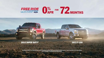 Ford Free Ride Sales Event TV Spot, 'Free to Choose the Right Truck' - Thumbnail 7