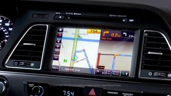 2015 Hyundai Sonata Sport TV Spot, 'Copiloto' [Spanish] [T1] - Thumbnail 2