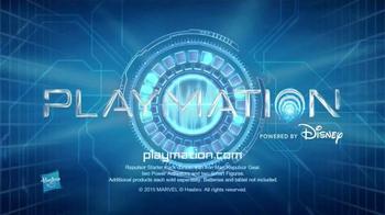 Playmation Marvel Avengers Repulsor Starter Pack TV Spot, 'Disney Channel: Practice Battle' - Thumbnail 8