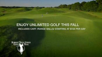 Robert Trent Jones Golf Trail TV Spot, 'Golden Days of Autumn' - Thumbnail 5