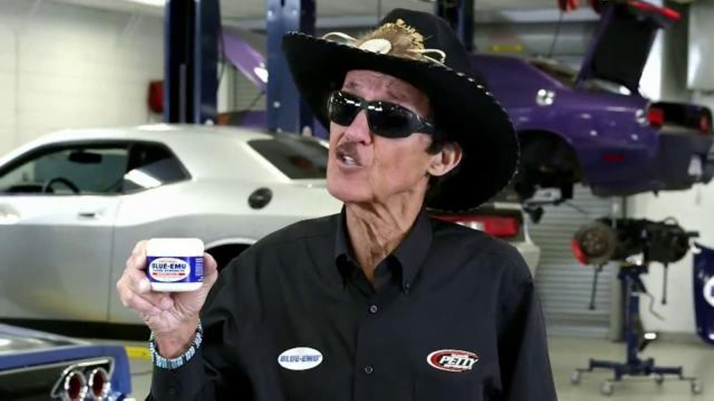 Blue-Emu TV Commercial, 'Pocket' Featuring Richard Petty