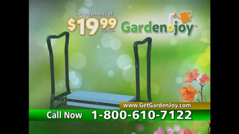 Garden Joy TV Spot, 'Pain in the Back' - 39 commercial airings