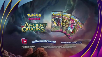 Pokemon Trading Card Game: XY - Ancient Origins TV Spot, 'Clash' - 793 commercial airings