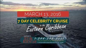 Litton's Ocean Adventure Caribbean Cruise TV Spot, 'Celebrity Cruise' - Thumbnail 3