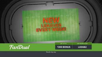 FanDuel Fantasy Football One-Week Leagues TV Spot, 'Joe Watson' - Thumbnail 2