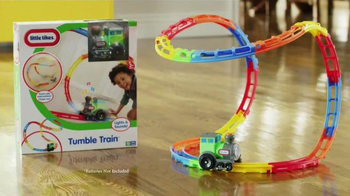 Little Tikes Tumble Train TV Spot, 'Wild Ride'