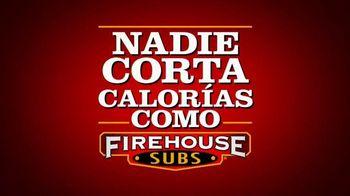 Firehouse Subs Under 500 Calories Menu TV Spot, 'Menos calorías' [Spanish] - Thumbnail 1