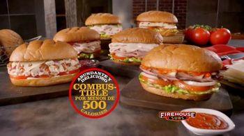 Firehouse Subs Under 500 Calories Menu TV Spot, 'Menos calorías' [Spanish] - Thumbnail 2