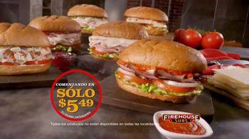 Firehouse Subs Under 500 Calories Menu TV Spot, 'Menos calorías' [Spanish] - Thumbnail 6