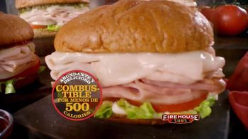 Firehouse Subs Under 500 Calories Menu TV Spot, 'Menos calorías' [Spanish] - Thumbnail 7