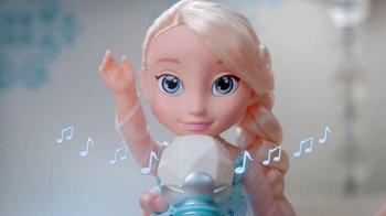 Disney Frozen Singing Elsa TV Spot, 'Magic Sing-along' - 930 commercial airings
