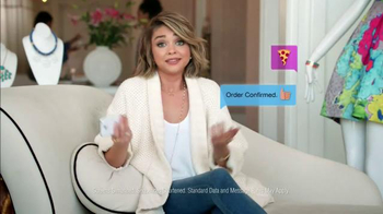 Domino's TV Spot, 'Sarah Loves Emoji' Featuring Sarah Hyland - Thumbnail 4