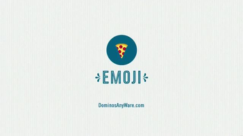 Domino's TV Spot, 'Sarah Loves Emoji' Featuring Sarah Hyland - Thumbnail 5