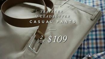 JoS. A. Bank TV Spot, 'Traveler Casual Pants, Dress Shirts & Ties' - Thumbnail 2