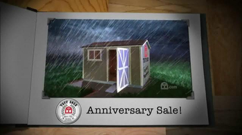 Tuff Shed Anniversary Sale TV Spot, 'Stand the Test of Time' - Thumbnail 5