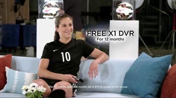 XFINITY X1 Triple Play TV Spot, 'Never Miss' Featuring Carli Lloyd - Thumbnail 3