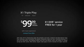 XFINITY X1 Triple Play TV Spot, 'Never Miss' Featuring Carli Lloyd - Thumbnail 6