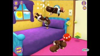 Animal Babies Nursery: Jumpin' Lil' Monkeys TV Spot, 'Jumping on the Bed' - Thumbnail 8