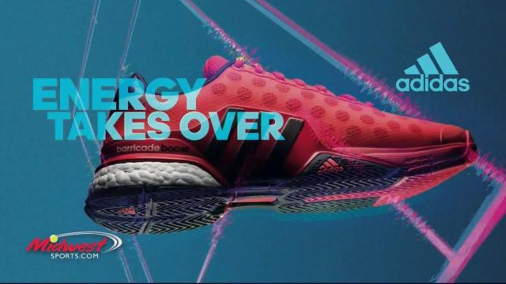 brand new d9446 214d9 Midwest Sports TV Commercial,  adidas Barricade Boost