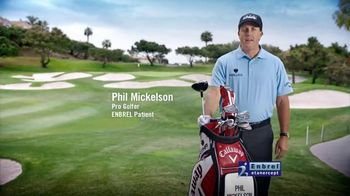 Enbrel TV Spot 'Everyday Activities' Featuring Phil Mickelson - 16229 commercial airings