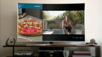 Domino's TV Spot, 'AnyWare' Ft. Eva Longoria, Richard Sherman, Sarah Hyland - Thumbnail 4