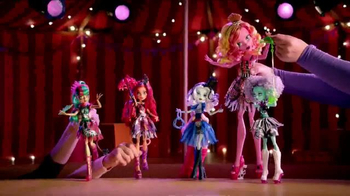 Monster High Circus Dolls TV Spot, 'Show Time'