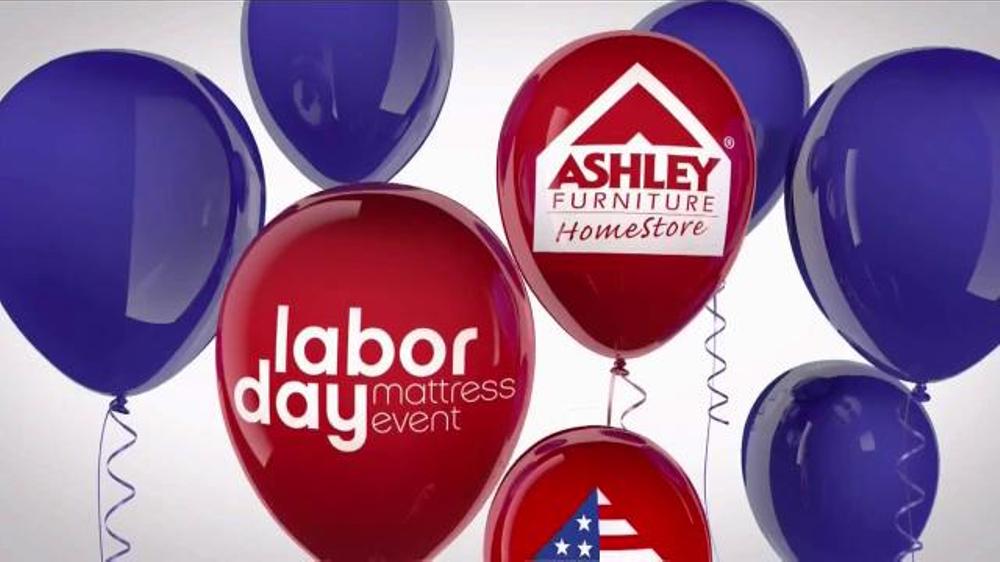 Ashley Furniture Homestore Labor Day Mattress Event Tv Commercial