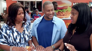 McDonald's Buttermilk Crispy Chicken Sandwich TV Spot, 'Food Festival' - Thumbnail 2