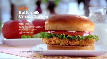 McDonald's Buttermilk Crispy Chicken Sandwich TV Spot, 'Food Festival' - Thumbnail 5