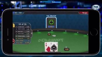 ClubWPT Express Poker TV Spot, 'Get in the Game' - 5 commercial airings