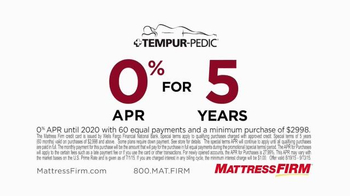 Mattress Firm TV Spot, 'There You Have It' - Thumbnail 5