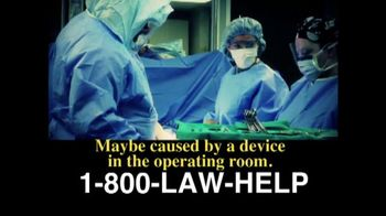 The Cochran Law Firm TV Spot, 'Infection' - Thumbnail 3