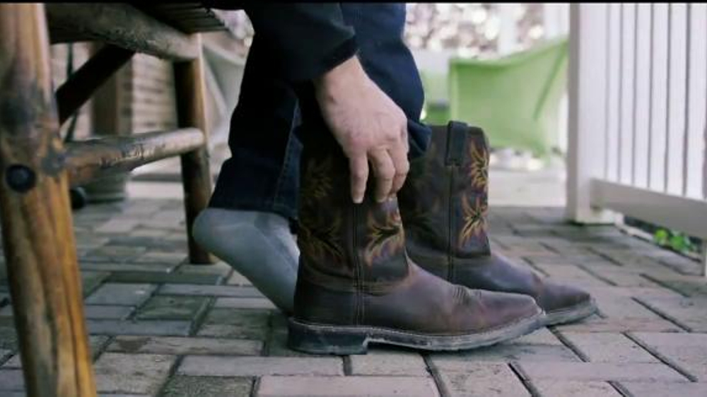 93995a82281 Justin Boots Original Work Boots TV Commercial, 'Break Ground' - Video