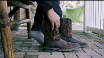 Justin Boots Original Work Boots TV Spot, 'Break Ground'
