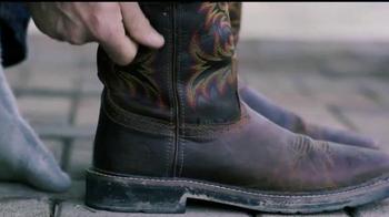 Justin Boots Original Work Boots TV Spot, 'Break Ground' - Thumbnail 2