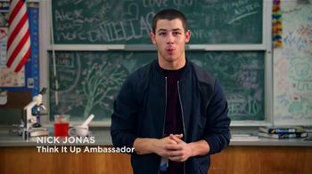 Think It Up TV Spot, 'Students and Teachers' Featuring Nick Jonas - 18 commercial airings