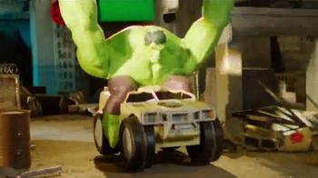Jakks Pacific Marvel Hulk Smash RC TV Spot, 'Infiltrate Hydra' - Thumbnail 4