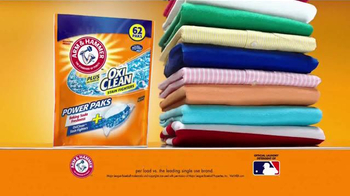 Arm and Hammer Plus OxiClean Power Paks TV Spot, 'Powerful Combination' - Thumbnail 8
